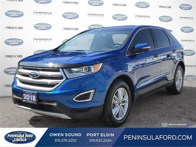 2018 Ford Edge SEL (Stk: 20EX28A) in Owen Sound - Image 1 of 25