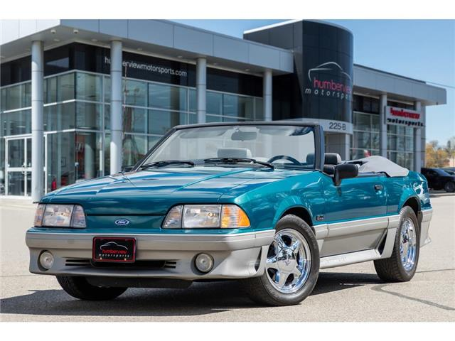 1993 Ford Mustang GT 5.0L CONVERTIBLE SUPER CLEAN!! (Stk: 20HMS957) in Mississauga - Image 1 of 24