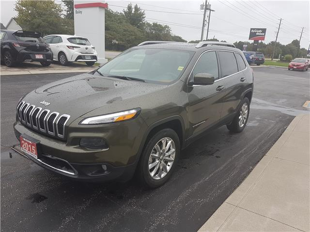 2015 Jeep Cherokee Limited (Stk: 519331) in Sarnia - Image 1 of 10