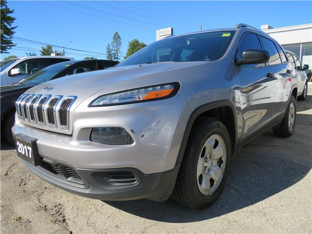2017 Jeep Cherokee Sport (Stk: 86399) in St. Thomas - Image 1 of 6