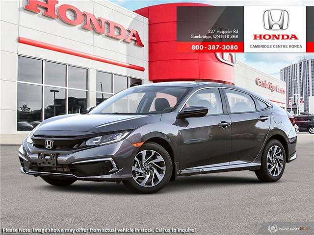 2020 Honda Civic EX w/New Wheel Design (Stk: 21209) in Cambridge - Image 1 of 24