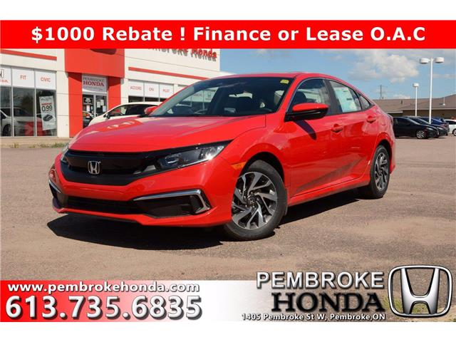 2020 Honda Civic EX (Stk: 20221) in Pembroke - Image 1 of 28
