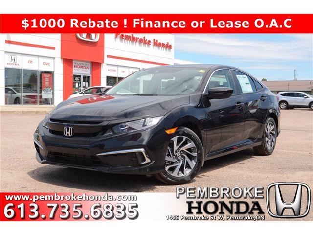 2020 Honda Civic EX (Stk: 20239) in Pembroke - Image 1 of 27
