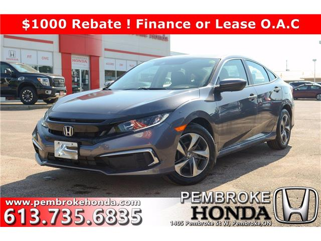 2020 Honda Civic LX (Stk: 20248) in Pembroke - Image 1 of 22