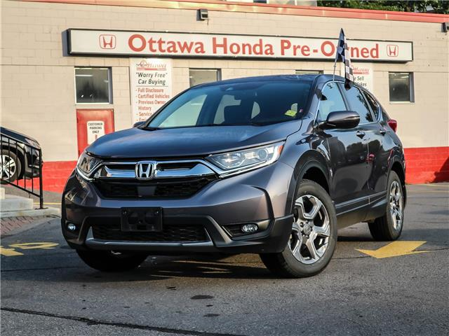 2019 Honda CR-V EX (Stk: H84690) in Ottawa - Image 1 of 28