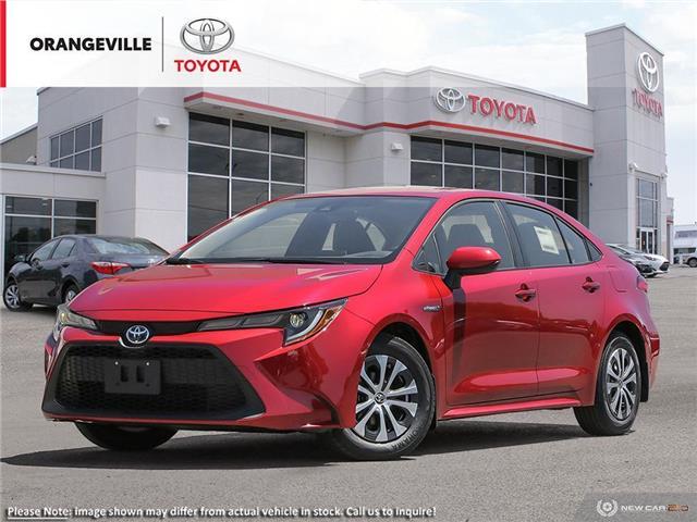 2021 Toyota Corolla Hybrid Base w/Li Battery (Stk: 21016) in Orangeville - Image 1 of 23