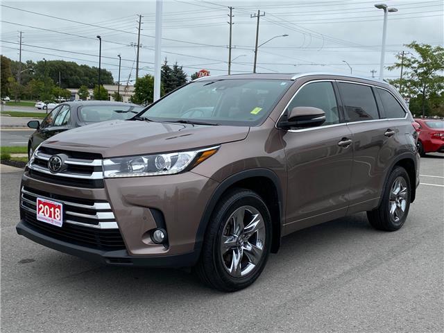 2018 Toyota Highlander Limited (Stk: W5136) in Cobourg - Image 1 of 27
