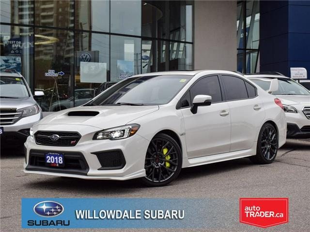 2018 Subaru WRX STI Sport Tech>>Low mileage and No accident<< (Stk: P3309) in Toronto - Image 1 of 30