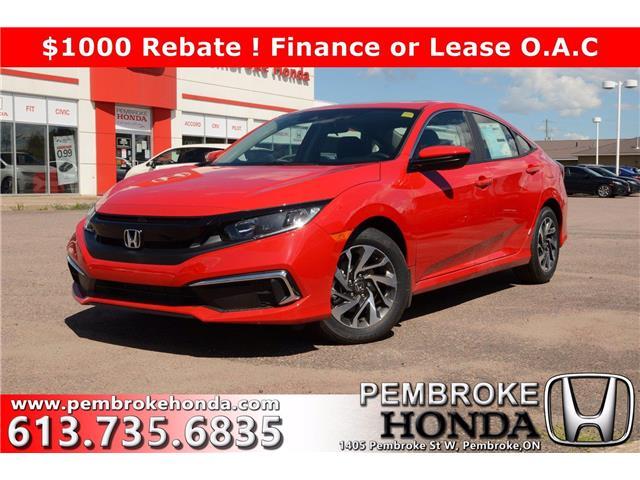 2020 Honda Civic EX (Stk: 20246) in Pembroke - Image 1 of 28