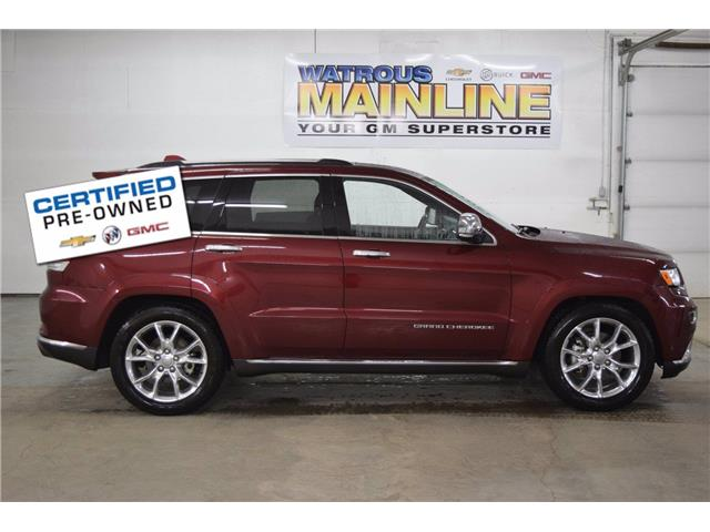 2016 Jeep Grand Cherokee Summit (Stk: L1095A) in Watrous - Image 1 of 45
