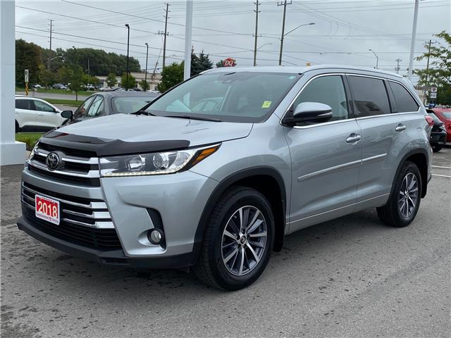2018 Toyota Highlander XLE (Stk: TW260A) in Cobourg - Image 1 of 28