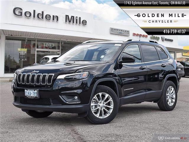 2019 Jeep Cherokee North (Stk: 9-8125) in Sudbury - Image 1 of 27