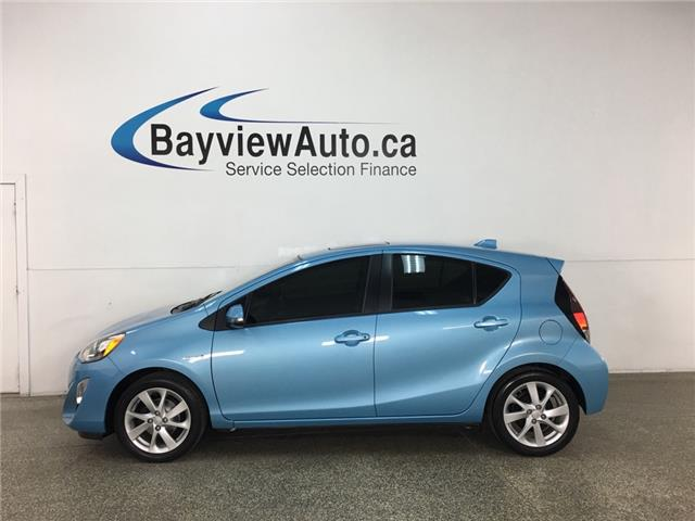 2016 Toyota Prius C Technology (Stk: 37002W) in Belleville - Image 1 of 30