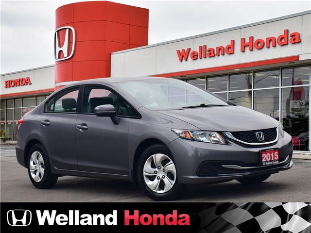2015 Honda Civic LX (Stk: U20262A) in Welland - Image 1 of 20