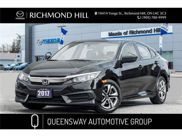 2017 Honda Civic LX (Stk: 20-172A) in Richmond Hill - Image 1 of 19