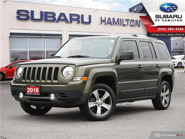 2016 Jeep Patriot Sport/North (Stk: S7905A) in Hamilton - Image 1 of 28