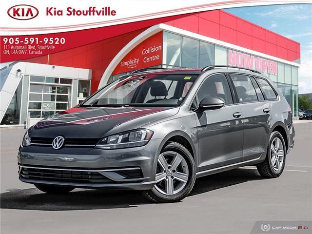 2019 Volkswagen Golf SportWagen 1.8 TSI Comfortline (Stk: P0227) in Stouffville - Image 1 of 25