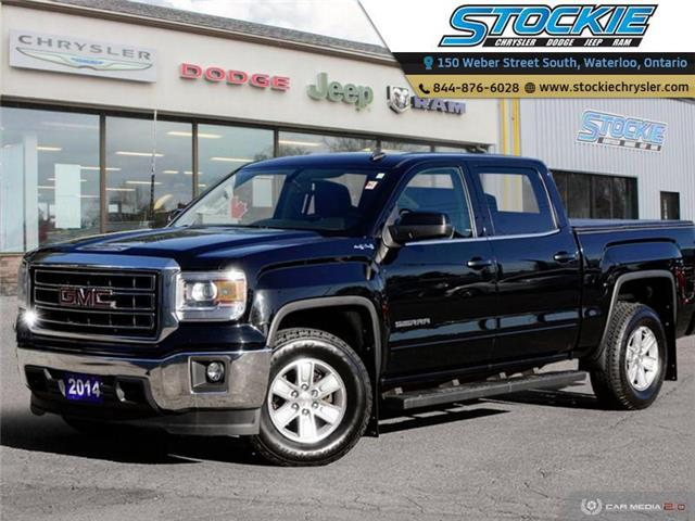 2014 GMC Sierra 1500 SLE (Stk: 34593) in Waterloo - Image 1 of 27