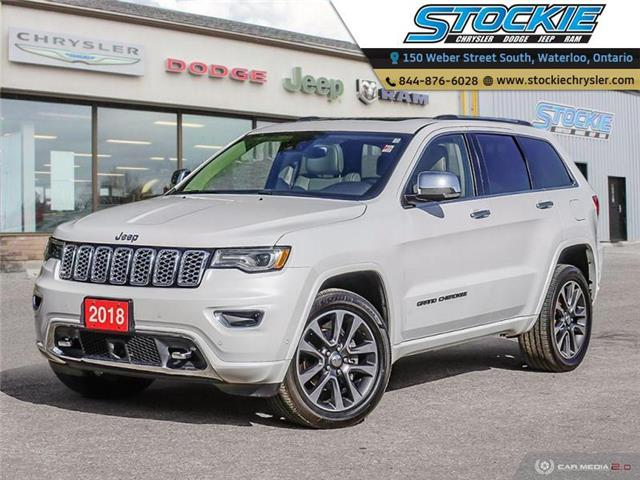 2018 Jeep Grand Cherokee Overland (Stk: 34833) in Waterloo - Image 1 of 27