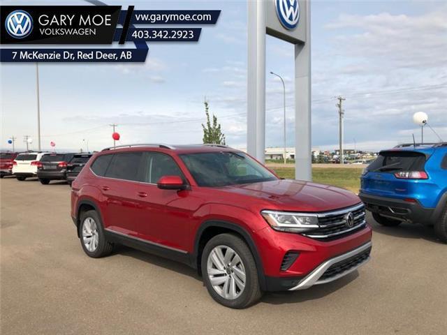 2021 Volkswagen Atlas 3.6 FSI Highline (Stk: 1AT3837) in Red Deer County - Image 1 of 9