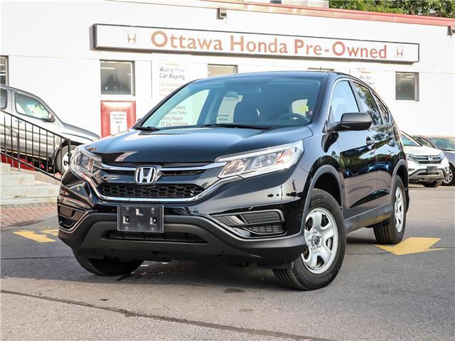 2016 Honda CR-V LX (Stk: H85360) in Ottawa - Image 1 of 27