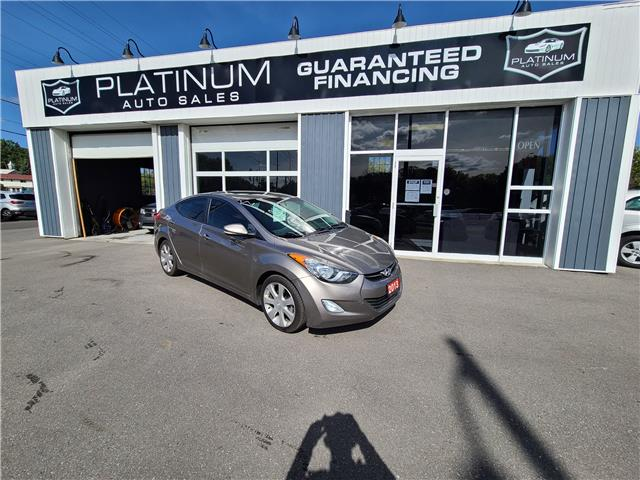 2013 Hyundai Elantra Limited (Stk: ) in Kingston - Image 1 of 12