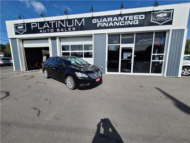 2013 Nissan Sentra 1.8 S (Stk: 612286) in Kingston - Image 1 of 9