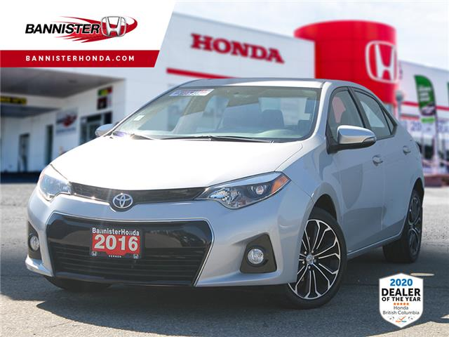 2016 Toyota Corolla S (Stk: P20-084) in Vernon - Image 1 of 12