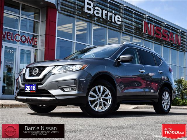 2018 Nissan Rogue SV (Stk: 20397A) in Barrie - Image 1 of 30