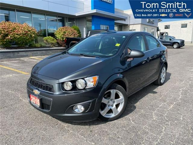 2015 Chevrolet Sonic LT Auto (Stk: 200243AA) in Midland - Image 1 of 19