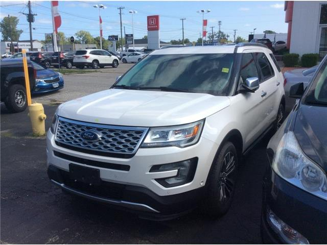 2017 Ford Explorer Platinum (Stk: A9235) in Sarnia - Image 1 of 1