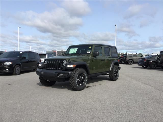 2021 Jeep Wrangler Unlimited Sport (Stk: M00001) in Kanata - Image 1 of 24