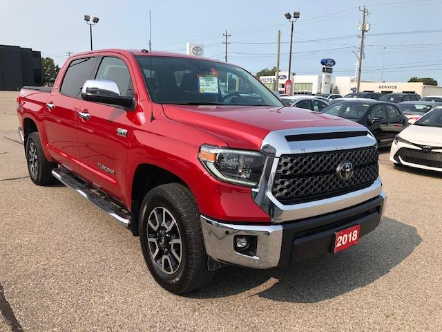 2018 Toyota Tundra SR5 Plus 5.7L V8 (Stk: 248376A) in Chatham - Image 1 of 14