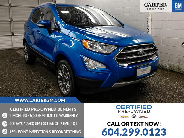2018 Ford EcoSport Titanium (Stk: P9-62640) in Burnaby - Image 1 of 25