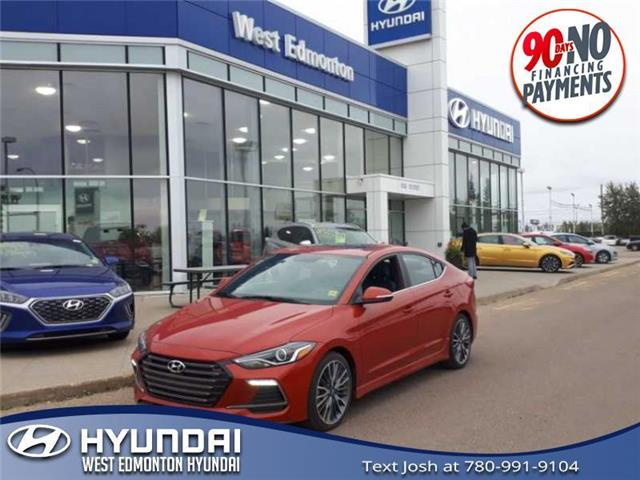 2018 Hyundai Elantra Sport (Stk: PS1221) in Edmonton - Image 1 of 24