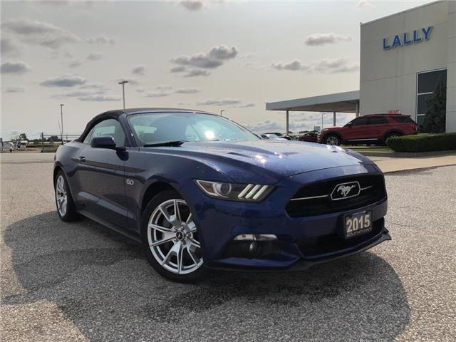 2015 Ford Mustang GT Premium (Stk: S6760B) in Leamington - Image 1 of 24