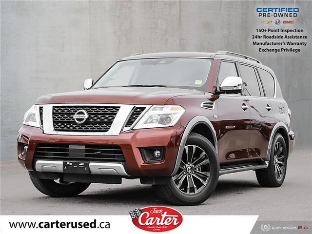 2018 Nissan Armada  (Stk: 56332L) in Calgary - Image 1 of 28
