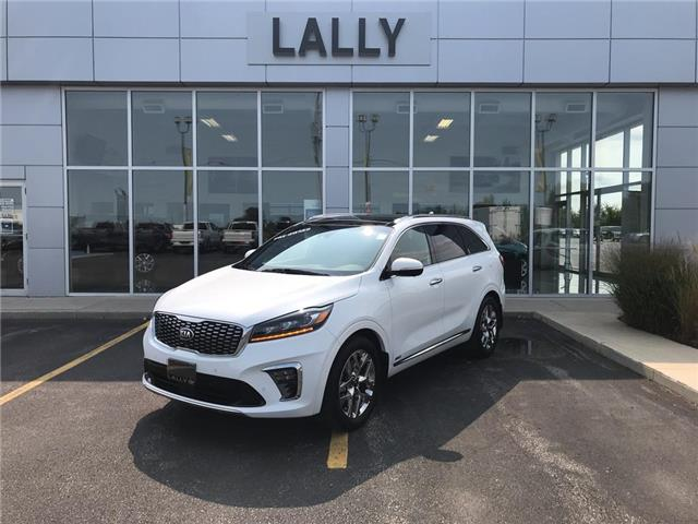 2019 Kia Sorento Roof, Leather, Nav, 360 view cam, low km's (Stk: 00196A) in Tilbury - Image 1 of 27