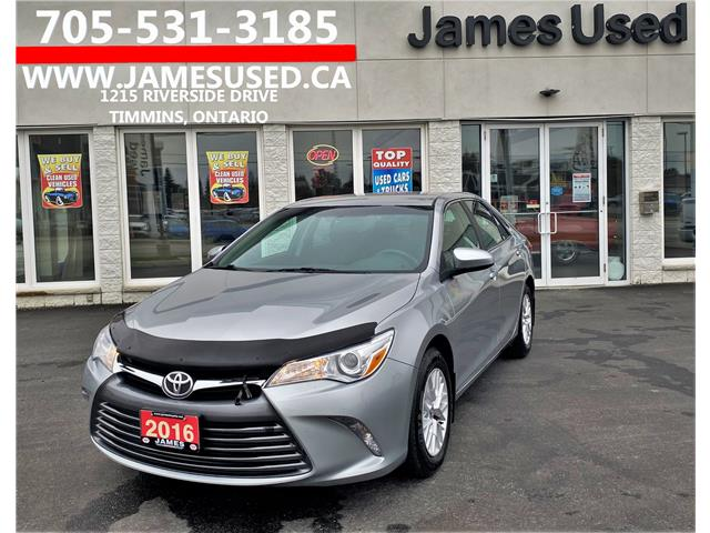 2016 Toyota Camry LE (Stk: N20437A) in Timmins - Image 1 of 13