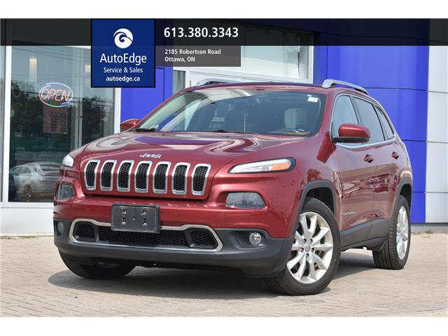2015 Jeep Cherokee Limited (Stk: A0330) in Ottawa - Image 1 of 28