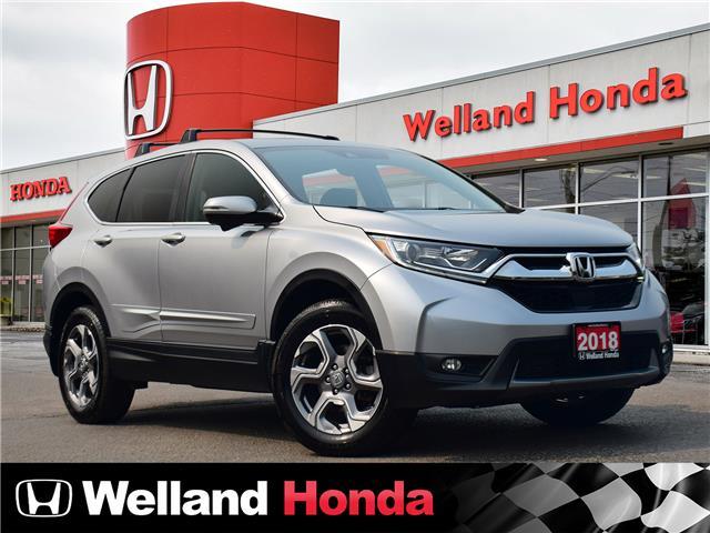 2018 Honda CR-V EX (Stk: U6830) in Welland - Image 1 of 25