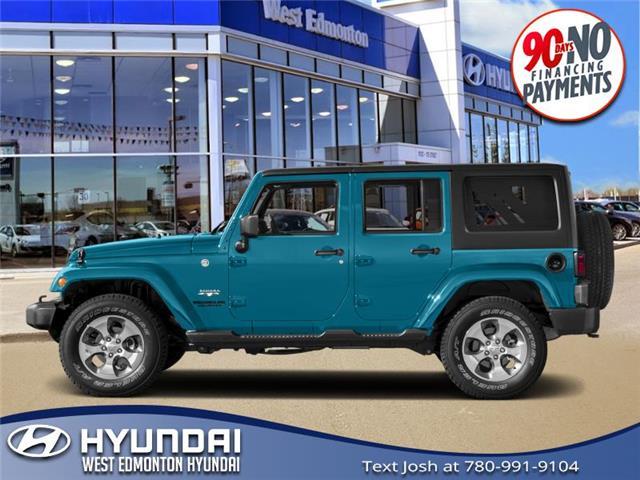 Used 2018 Jeep Wrangler JK Unlimited Sahara  - Edmonton - West Edmonton Hyundai