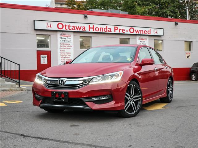 2017 Honda Accord Sport (Stk: 336521) in Ottawa - Image 1 of 29