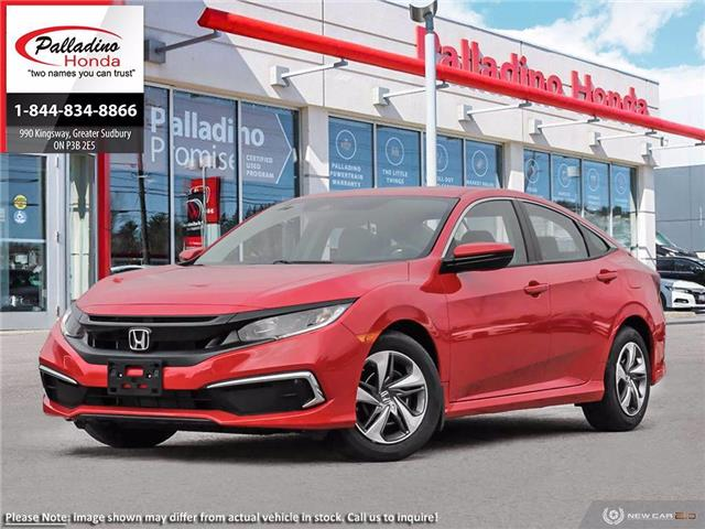 2020 Honda Civic LX (Stk: 22748) in Greater Sudbury - Image 1 of 23