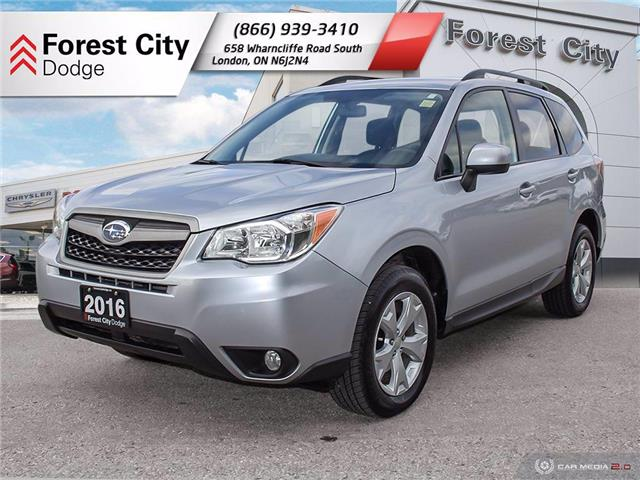 2016 Subaru Forester 2.5i Convenience Package (Stk: 20-R063A) in London - Image 1 of 14