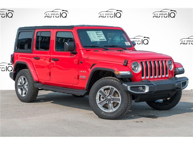 2021 Jeep Wrangler Unlimited Sahara (Stk: 34358) in Barrie - Image 1 of 27