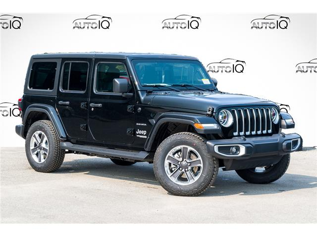 2021 Jeep Wrangler Unlimited Sahara (Stk: 34408) in Barrie - Image 1 of 27