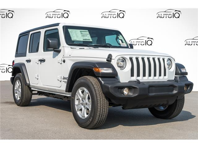 2021 Jeep Wrangler Unlimited Sport (Stk: 44105) in Innisfil - Image 1 of 21
