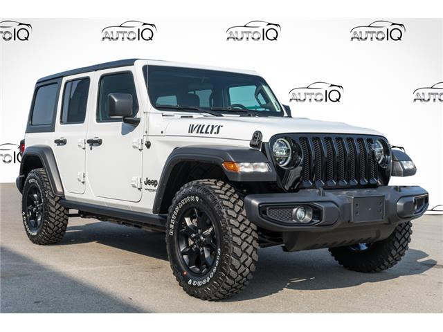 2021 Jeep Wrangler Unlimited Sport (Stk: 43995) in Innisfil - Image 1 of 26