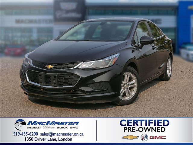 2017 Chevrolet Cruze LT Auto (Stk: 200517PA) in London - Image 1 of 10